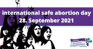 Bündnis für sexuelle Selbstbestimmung: Planungstreffen safe abortion day